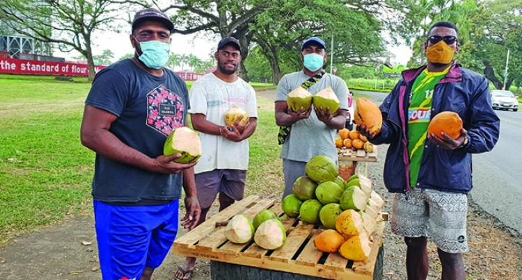 Coconut Sellers Bank On Hope For Survival