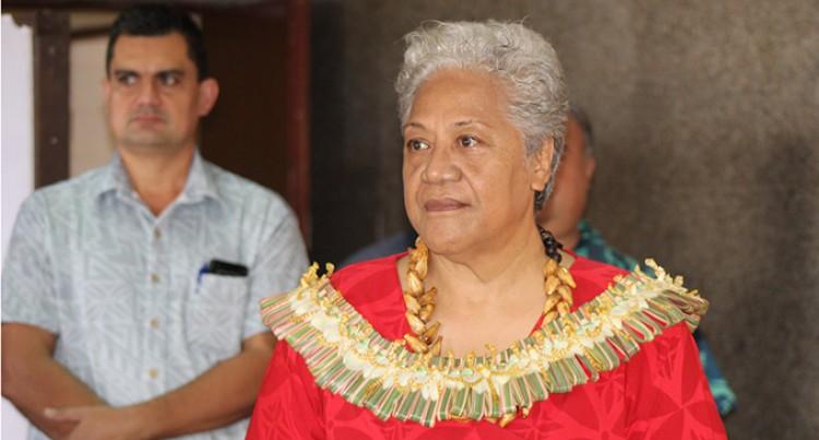 Fiame Sets Path For Pacific Women In Politics