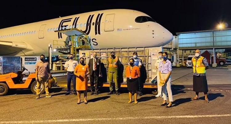 Moderna Vaccines Arrive Into Fiji