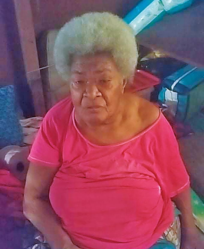 The late Alania Joana Rakaleba who 93 years of age at the time of her passing.