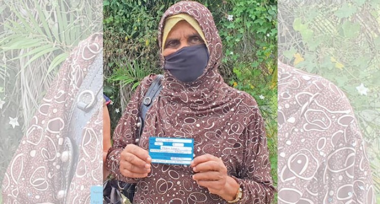 Begum, 76, Happy To Support COVID Fight