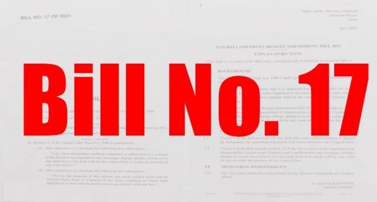 Land Bill Talk Next Week