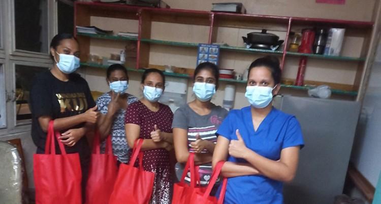 Snack Food Packs For Frontline Workers In CWM Hospital, FEMAT