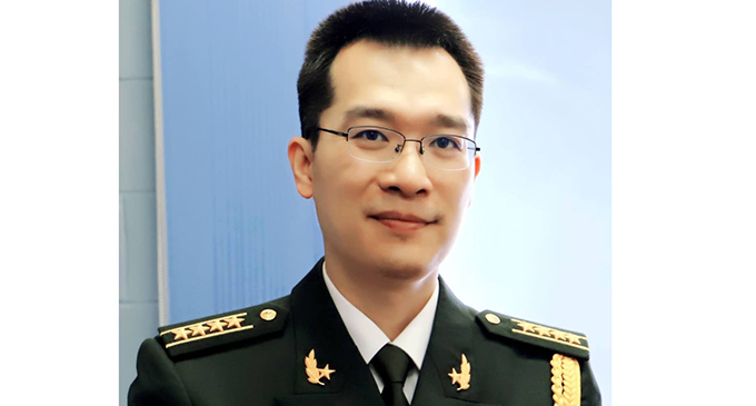 Senior Colonel Yu Ke,Defence Attaché of the Chinese Embassy to Fiji.