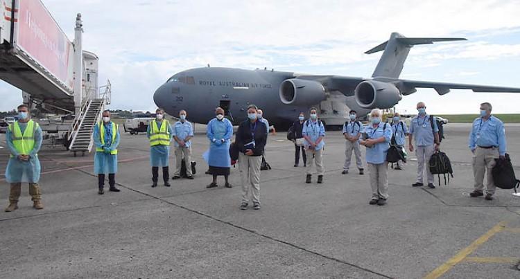 Australia-New Zealand Medical Assistance Team 'Bravo' Arrive