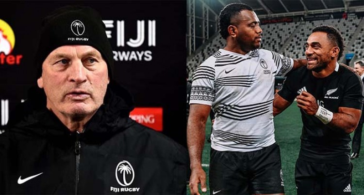 Jersey Row: Vern Cotter On Why Fijians Opted For Clean Jersey
