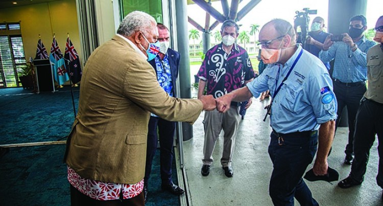 PM Welcomes NZ, Aust Allies In Fiji's War Against Virus