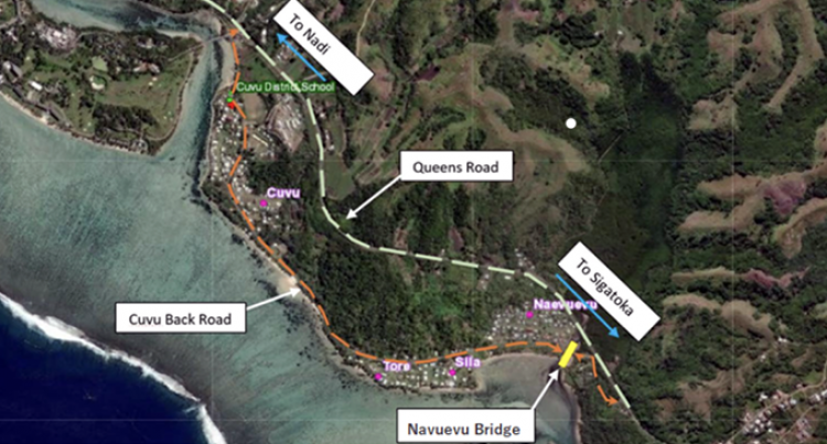 Navuevu Bridge On Cuvu Back Road, Sigatoka To Be Temporarily Closed For Maintenance