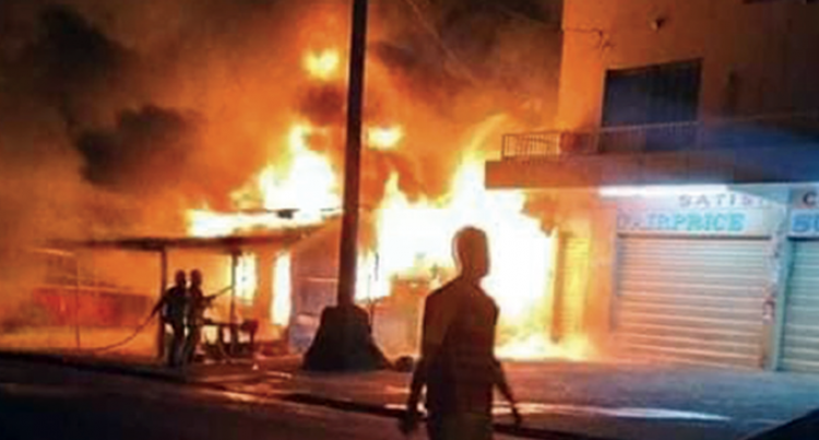 Muslim League Alleges Drunk Youths Involved In Taveuni Markaz Fire