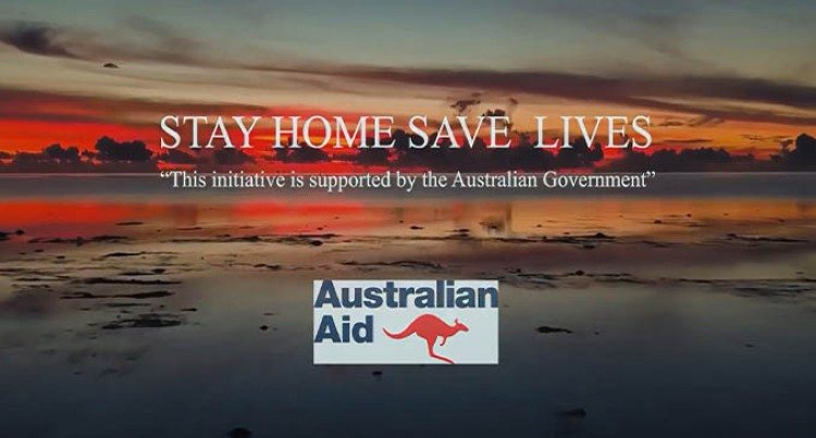 Stay Home, Save Lives. Fiji Artists Unite With A Message Of Hope