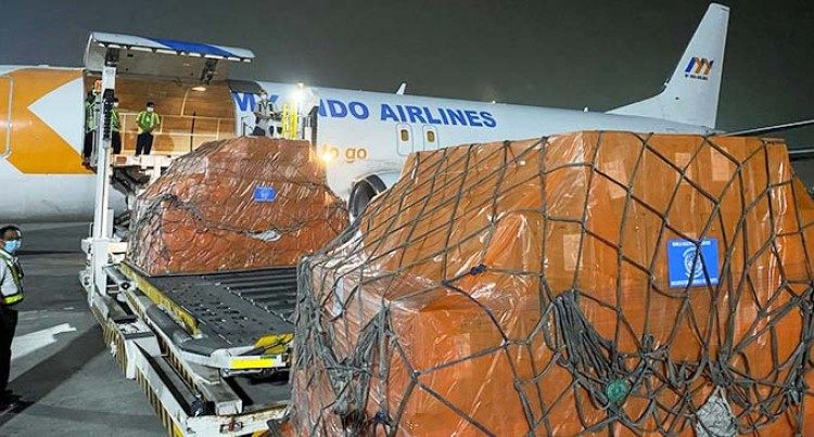 Medical Supplies Arrive To Fiji From Manila To Support The Response Of COVID-19 Cases Surge