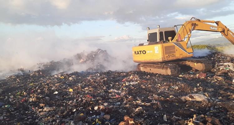 Lautoka City Council Suspects Arson At Vunato Rubbish Dump