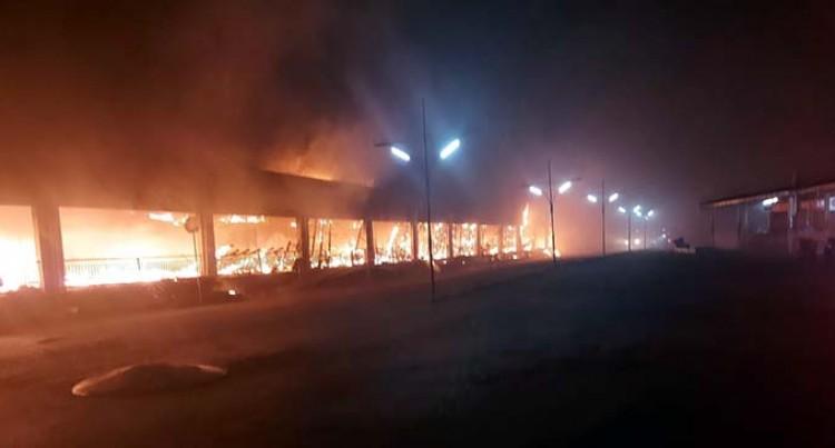 Fire Destroys Eight Shops In Ba Central Arcade