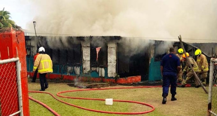 Fire Completely Destroys Farm House In Sabeto