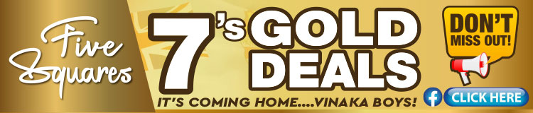 Five Squares 7S Gold Deals