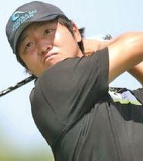 Golfer Sam Lee