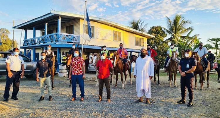 Olympian Derenalagi On Horse Patrol Operation In Mulomulo