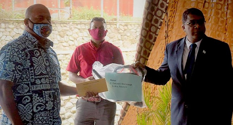 21 Fijians Received The Back To Rural Agriculture Kits
