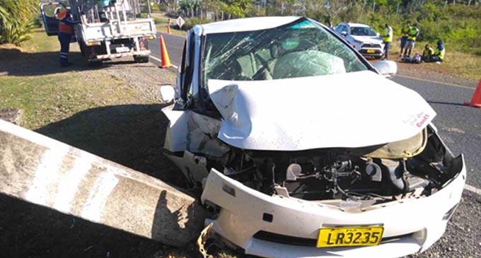 Malaqereqere, Sigatoka Accident EFL Aug 25, 2021.