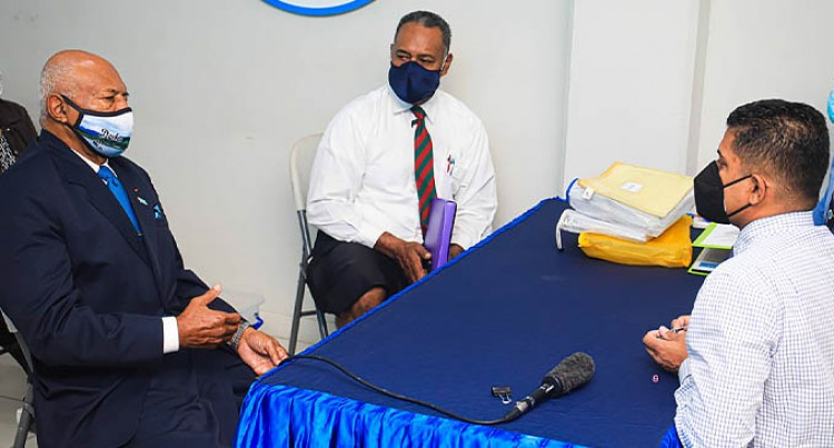 Sitiveni Rabuka Submits Application For The Registration Of The People's Alliance