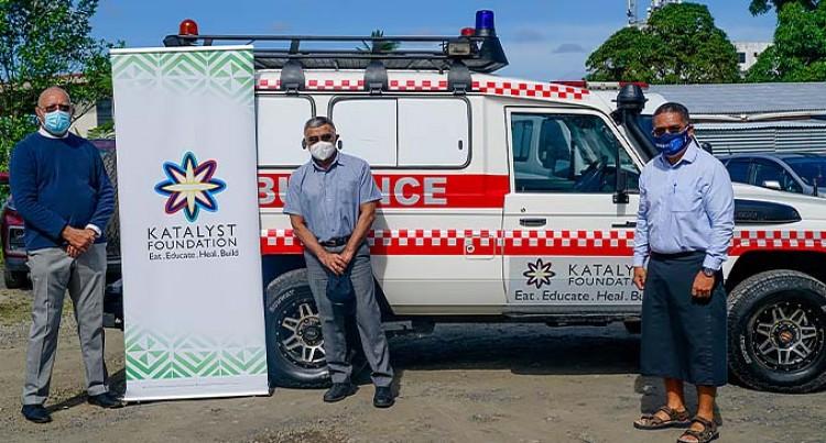 Nabouwalu Hospital Gets Refitted Ambulance