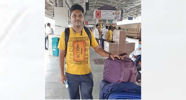 COVID-19 Survivor And Graduate On His Way Home From India, Shares Experience