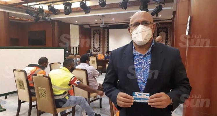 300 Suva City Council Staff Receive Second Dose