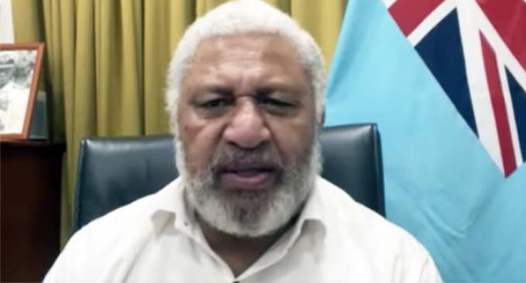 Prime Minister Voreqe Bainimarama Announces National Vaccine Lottery- 'Win Together Sweepstakes'