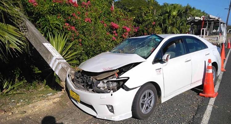 Sigatoka Vehicle Accident Causing Power Disruptions
