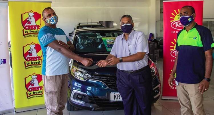 Farmer Wins $60k Vehicle