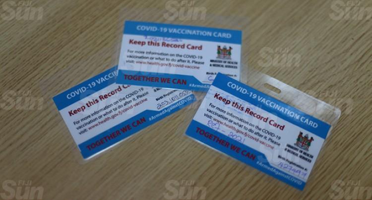 Fiji FA Suspects Fake Vax Cards