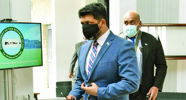 Attorney-General Fact Checks Qereqeretabua's Inaccuracy