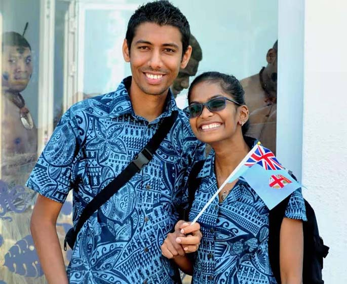 Ashmit Kumar and his wife Nividita Chand.