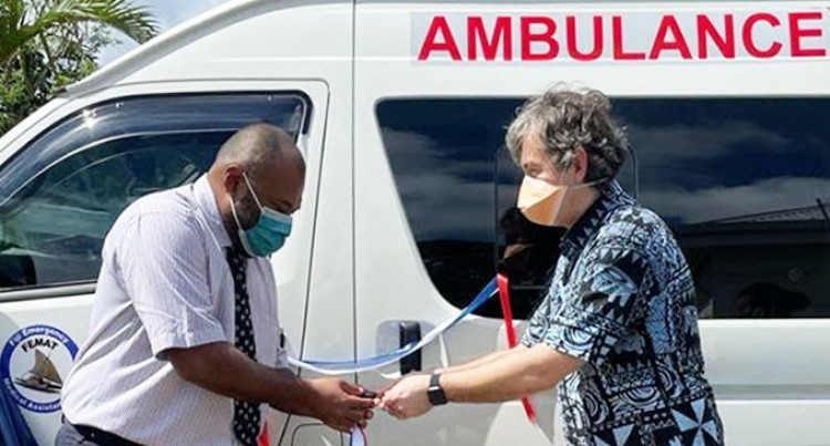 New Zealand Supports Fiji's COVID-19 Response With The Funding Of Four Fully Equipped Ambulances