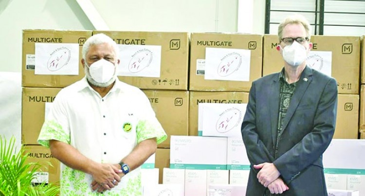 $1.1M Worth Of Masks Donated For Frontliners