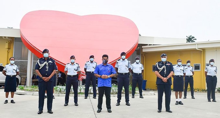 Sai Prema Cares For The Fiji Police Force