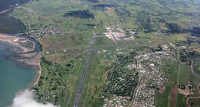 Aerial view of the Nadi International Airport and CAAF compound. Source: Civil Aviation Authority of Fiji FaceBook Page