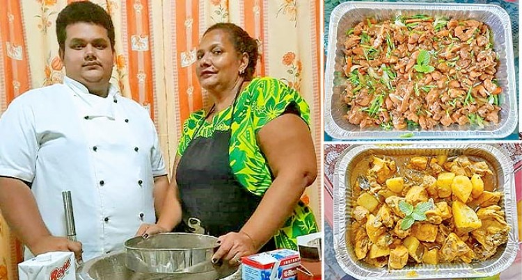 Mother And Son Catering Business Forges Ahead