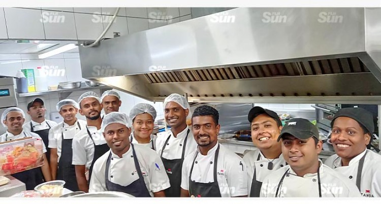 Tanoa Waterfront Hotel Completes $180k Kitchen