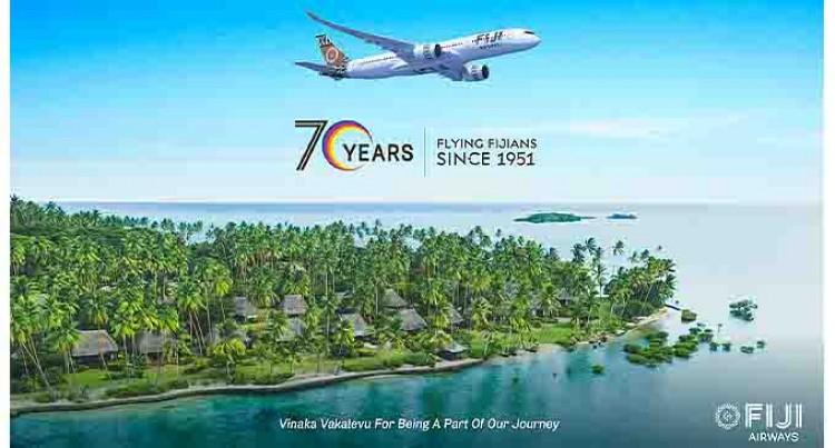 Fiji Airways Marks 70 Years of Flying