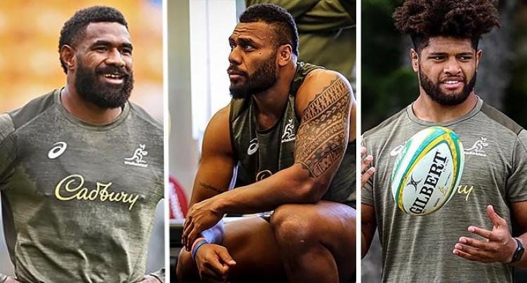 Fijian 3 Stay On For The Wallabies