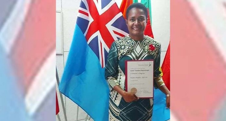Flying The Fijian Flag With Pride, Buinimasi Graduates From The Hebrew University