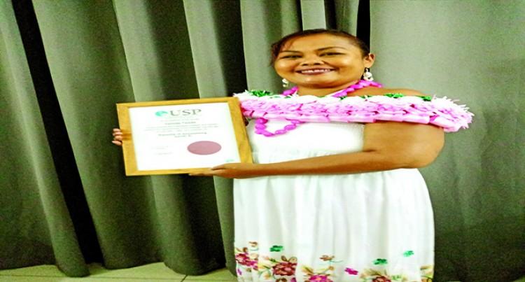 Tsiode Graduates From USP Despite Health Issues