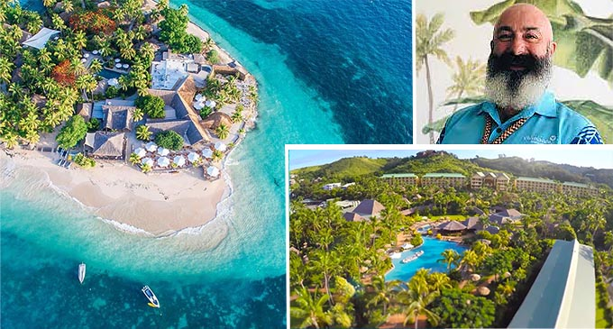 Outrigger Fiji Beach Resort and Castaway Island area director sales and marketing, Ben Johnson.