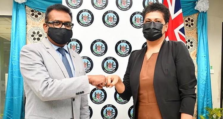 The Fijian Immigration Department Announces Amelia Kotobalavu Komaisavai As It's New Director