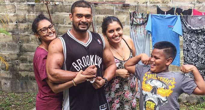 Sherneez Shankaran, Simon Shankaran, Sharon Elaine and Zedakaih.