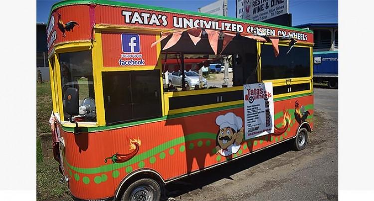 Tata's Opens New Uncivilised Chicken On Wheels Caravan