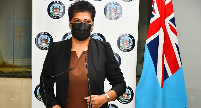 The newly appointed Director of the Fiji Immigration Department - Ms. Amelia. K. Komaisavai