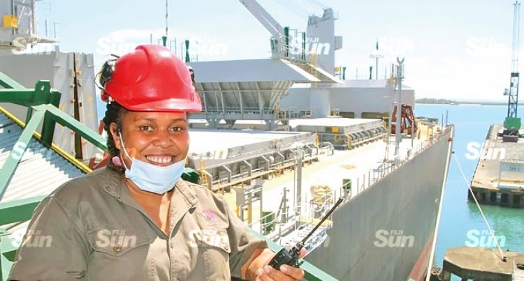 Tropik Wood Industries Names First Female Loading Master