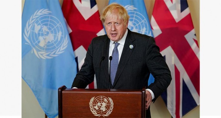 UK PM Calls On Wealthy Countries To Meet US$100 Billion Climate  Pledge
